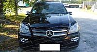 Дефлектор Мерседес GL 164 (мухобойка на капот Mercedes GL-Class X164)