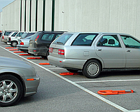 Малый парковочный барьер Came ARK 1 (ширина 350 мм) на 2 м