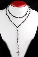 Украшение на шею для женщин и мужчин из гематита от Студии  www.LadyStyle.Biz