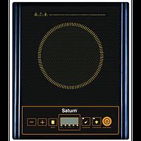 Електроплитка 2 квт, индукционная плита, инфракрасный нагреватель Saturn ST-EC0187