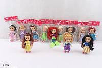 """Кукла """"Принцесса"""", 12видов, в пак. 13см (720шт/3)"""
