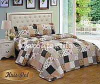 Комплект постельного белья двухспальный 180х220, (3030) Ранфорс
