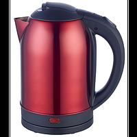 Чайник електричний нерж. (2,0 л; 2 кВт) Defiant DEK2000-208S_Red