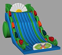 Гусеница. Веселенький батут для малышей и малышек, фото 1