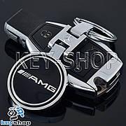 Металлический брелок для авто ключей MERCEDES - AMG (Мерседес - АМГ)