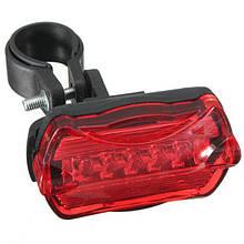 Фонарь задний, стоп красный-7 режимов, 5 светодиода