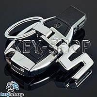 Металлический брелок для авто ключей Mercedes S - Class (Мерседес С - Класс)