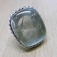 """Кольцо с рутиловым кварцем (волосатиком)""""Соната"""", размер 17,8 от Студии  www.LadyStyle.Biz, фото 1"""