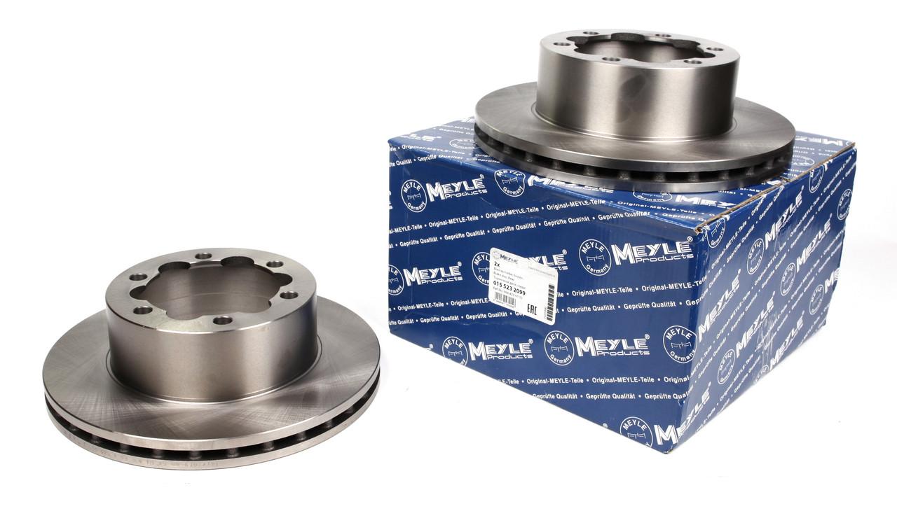 Диск тормозной (задний) MB Sprinter 508-519 06- (303x28) Meyle