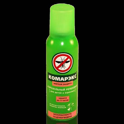 Комарекс аэрозоль средство от комаров125 мл