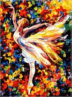 Картины по номерам/обложка.  Балерина. 40*50