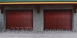 Гаражные секционные ворота 4200*2800