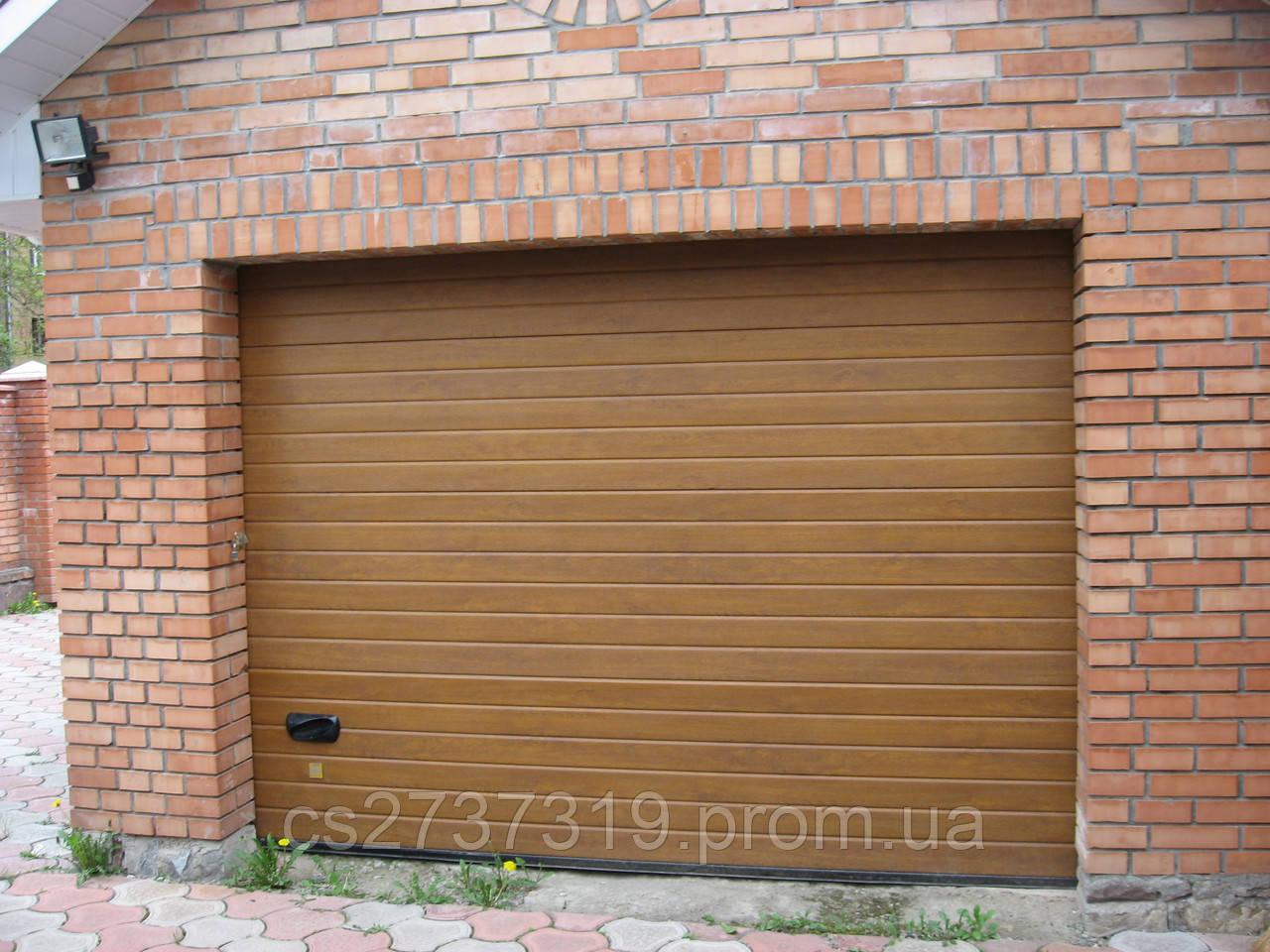 Гаражные секционные ворота 2800*2200