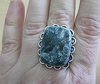 """Серебряный перстень  с натуральным серафинитом """"Калипсо"""" , размер 18,4 от студии LadyStyle.Biz, фото 1"""