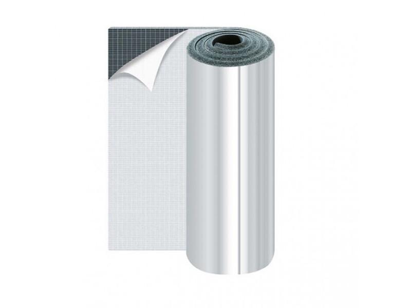 Листовой самоклеющийся термоизолятор с фольгой K-Flex АD ALU Duct ST 20 мм