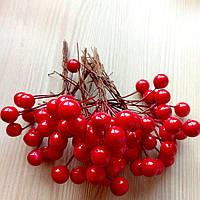 Тычинки ягоды красные 12 мм (10 ягод)