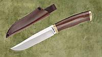 Нож нескладной 2670 ACWP с кожаным чехлом