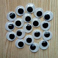 Глазки для игрушек круглые  12 мм (10шт.) (товар при заказе от 500грн)