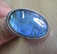 "Кольцо ""Синева"" с лабрадором, размер 17,6 от студии LadyStyle.Biz, фото 1"