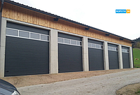 Промышленные секционные ворота 4500*4000