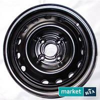 Штампованные (железные) диски Kapitan Kap Black (R14 W5.5 PCD4x108 ET24 DIA65.1)