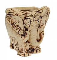 "Дачный вазон ""Слон""  из шамота. Вазоны оптом , фото 1"