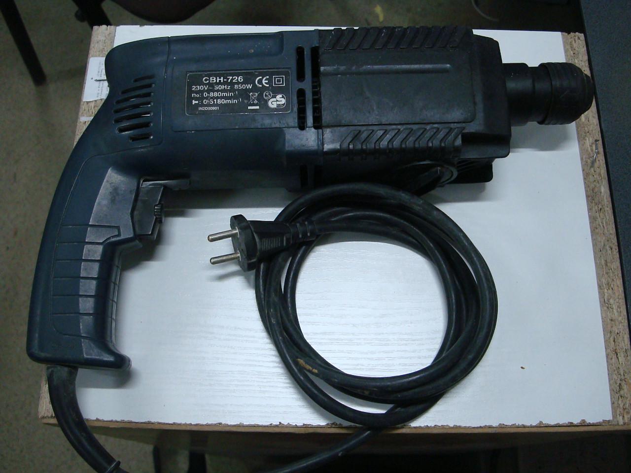 Перфоратор Craft CBH-726 (850 Ватт) на запчасти или восстановление