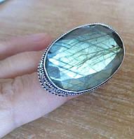 "Кольцо ""Грани"" с лабрадором, размер 20 от студии LadyStyle.Biz, фото 1"