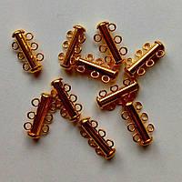 Застежка на магните золото (20мм) (товар при заказе от 500грн)