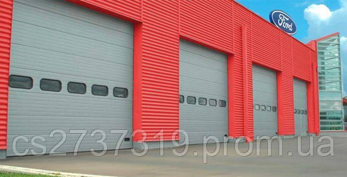 Промышленные секционные ворота 7000*5000