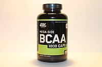 Optimum Nutrition, BCAA 1000 Caps, Mega-Size, 1,000 mg, 200 капсул