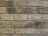 Камень декоративный Старый Кирпич (серый)