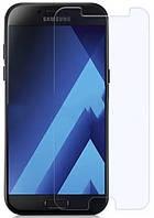 Защитное стекло для Samsung A320 (2017) Galaxy A3 (0.3 мм, 2.5D, с олеофобным покрытием) + задння пленка