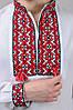 Сорочка вишиванка чоловіча біла довгий рукав (Украина), фото 4