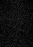 Ковер черный 0.8 х 1.5 м