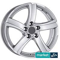 Литые легкосплавные диски Alutec Shark Silver (R17 W7 PCD4x98 ET35 DIA58.1)