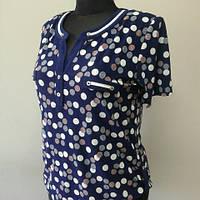 "Женская блуза из трикотажа ""Гибискус"""