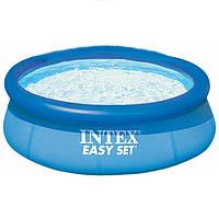 Семейный надувной бассейн 244х76 см Intex 28110