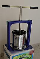 Пресс для сока Виллен 6 литров, пресс для отжима сока ручной, пресс соковыжималка