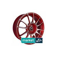 Литые легкосплавные диски MAK Xlr Red Mirror (R16 W7 PCD5x114.3 ET45 DIA76)
