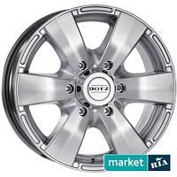 Литые легкосплавные диски Dotz Luxor Silver (R16 W7 PCD5x139.7 ET40 DIA59.6)
