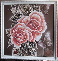 """Картина """"Розовый букет"""" от студии LadyStyle.Biz, фото 1"""