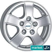 Литые легкосплавные диски Alutec Energy T Polar Silver (R15 W6 PCD5x112 ET50 DIA70.1)