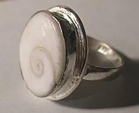 Изящное колечко с глазом Шивы, размер 20,3 от студии LadyStyle.Biz, фото 1