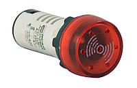 Арматура светосигнальная AD22-22 BM/r мигающий красный 220V АC АСКО-УКРЕМ A0140030159
