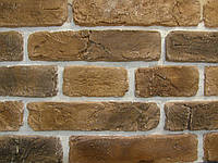 Декоративный камень Старый Кирпич  (коричневый)