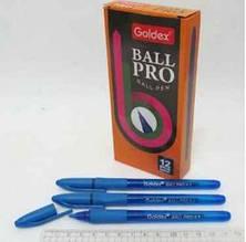 Ручка масляна Ball pro # 1201  Індія Blue