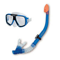"Набор для плавания ""Рифовый пловец"" Intex 55948, маска + трубка ZN"