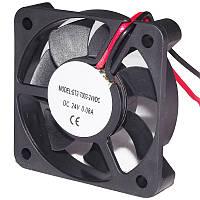 Вентилятор 24V (металлич. решетка)