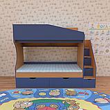 Двухъярусная кровать для детской комнаты Джунгли от производителя, фото 7